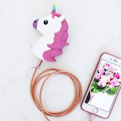 Accessoires de plage - Chargeur pour Smartphone - Licorne