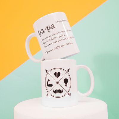 Verres & Mugs - Tasse Personnalisable - Papa