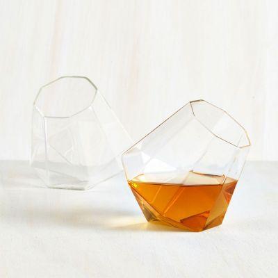 Cadeau 50 ans - Verres à Whisky Diamant