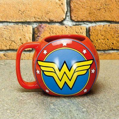 Films & Télévision  - Tasse Bouclier Wonder Woman