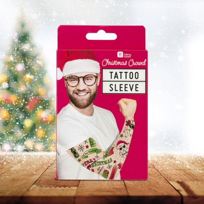 Accessoires - Manche avec Tatouages de Noël