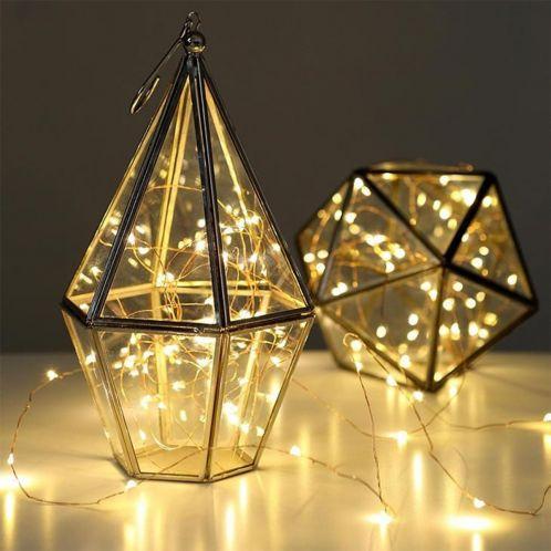 Idée cadeau - Guirlande lumineuse en cuivre