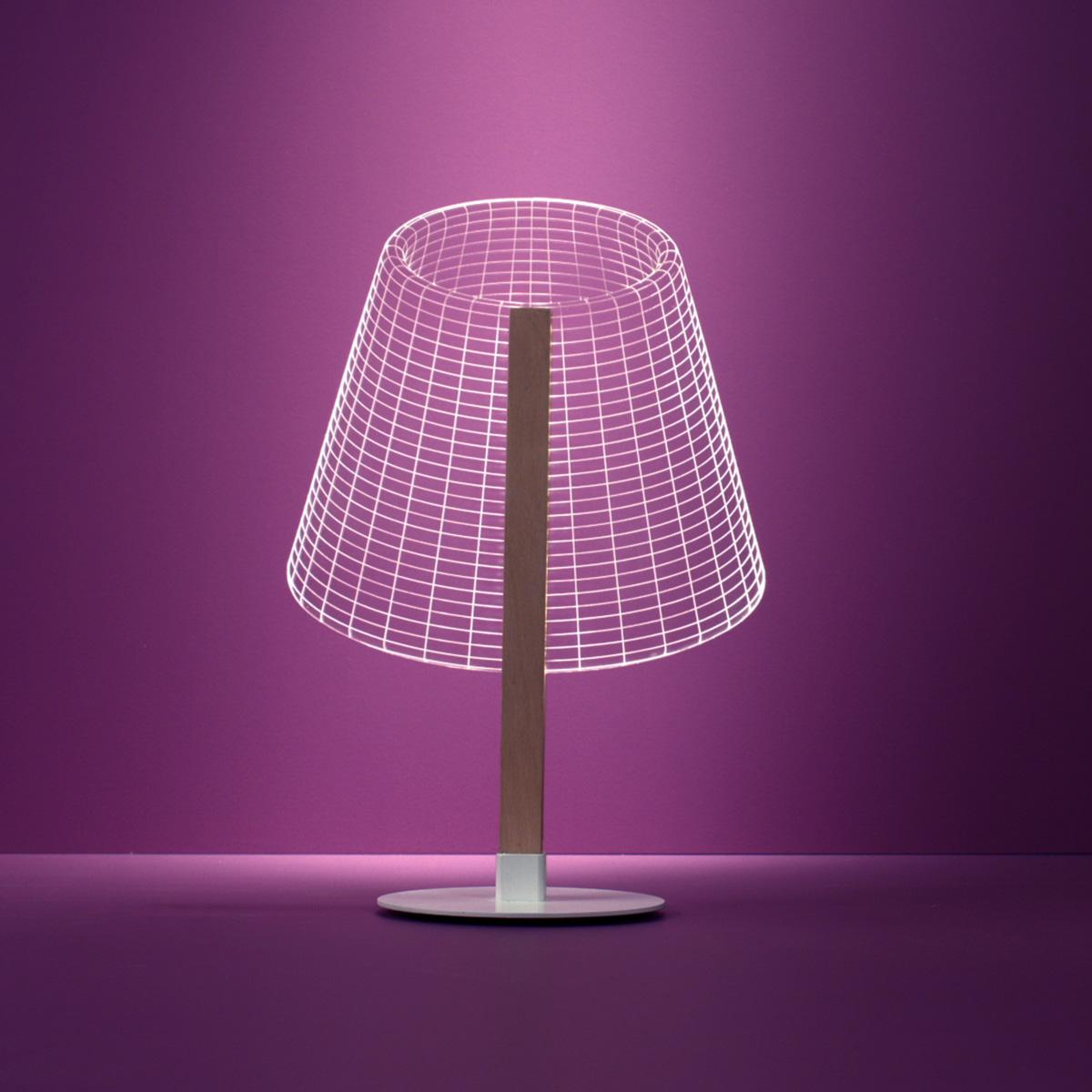 Lampe Bulbing Classi LED - Effet 3D