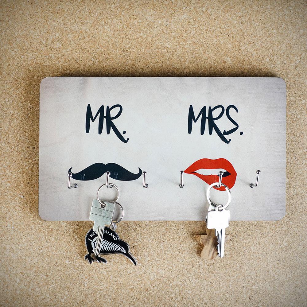 Porte-clés Mr. & Mrs.
