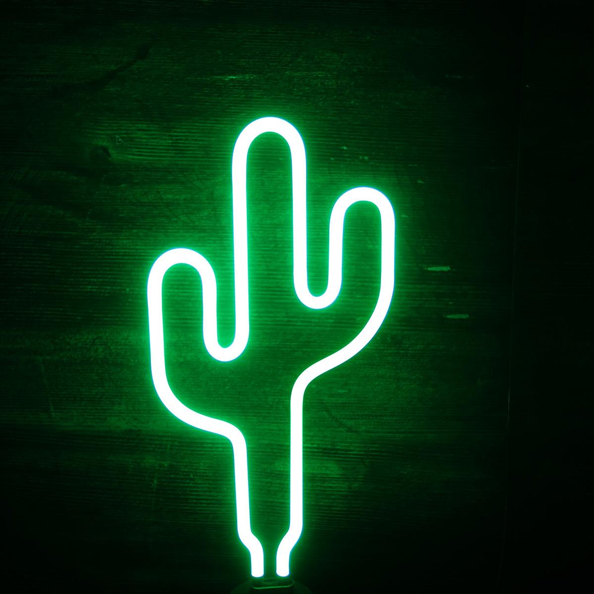 Lampe Néon Cactus