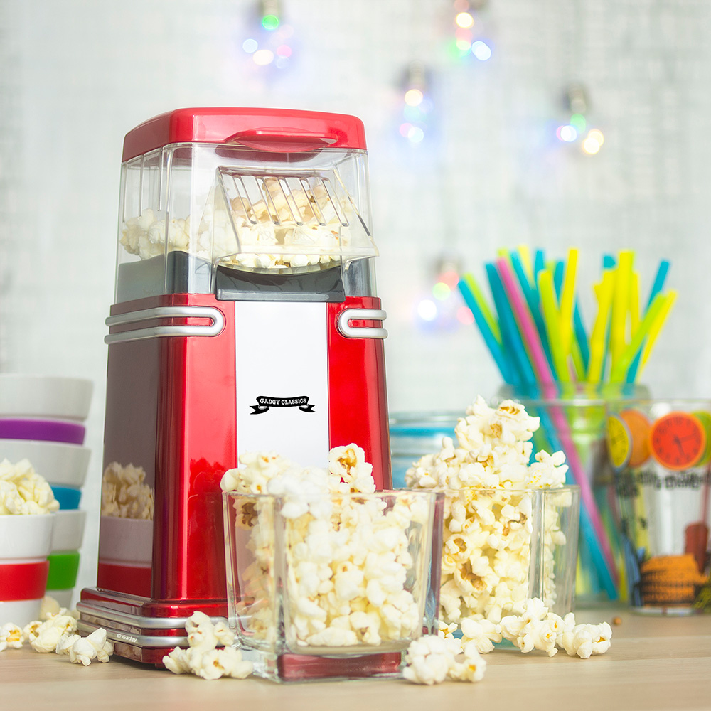 Mini Machine à Pop-Corn Rétro