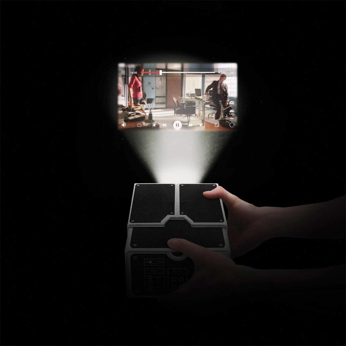 Projecteur en carton pour Smartphone