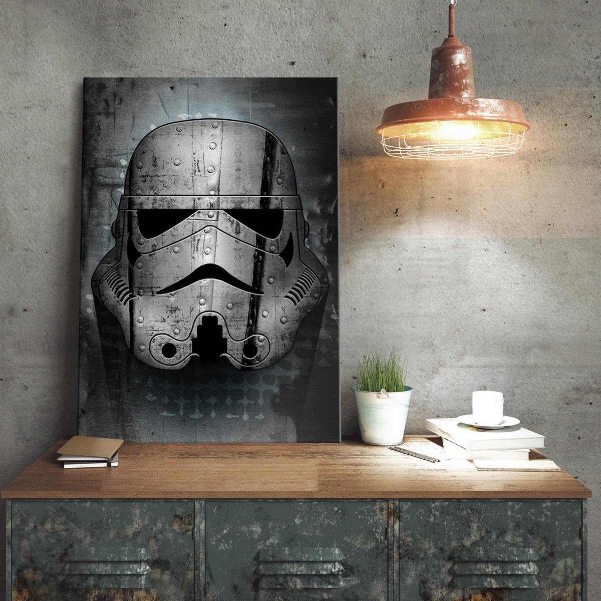 Poster métallique Star Wars – Stormtrooper