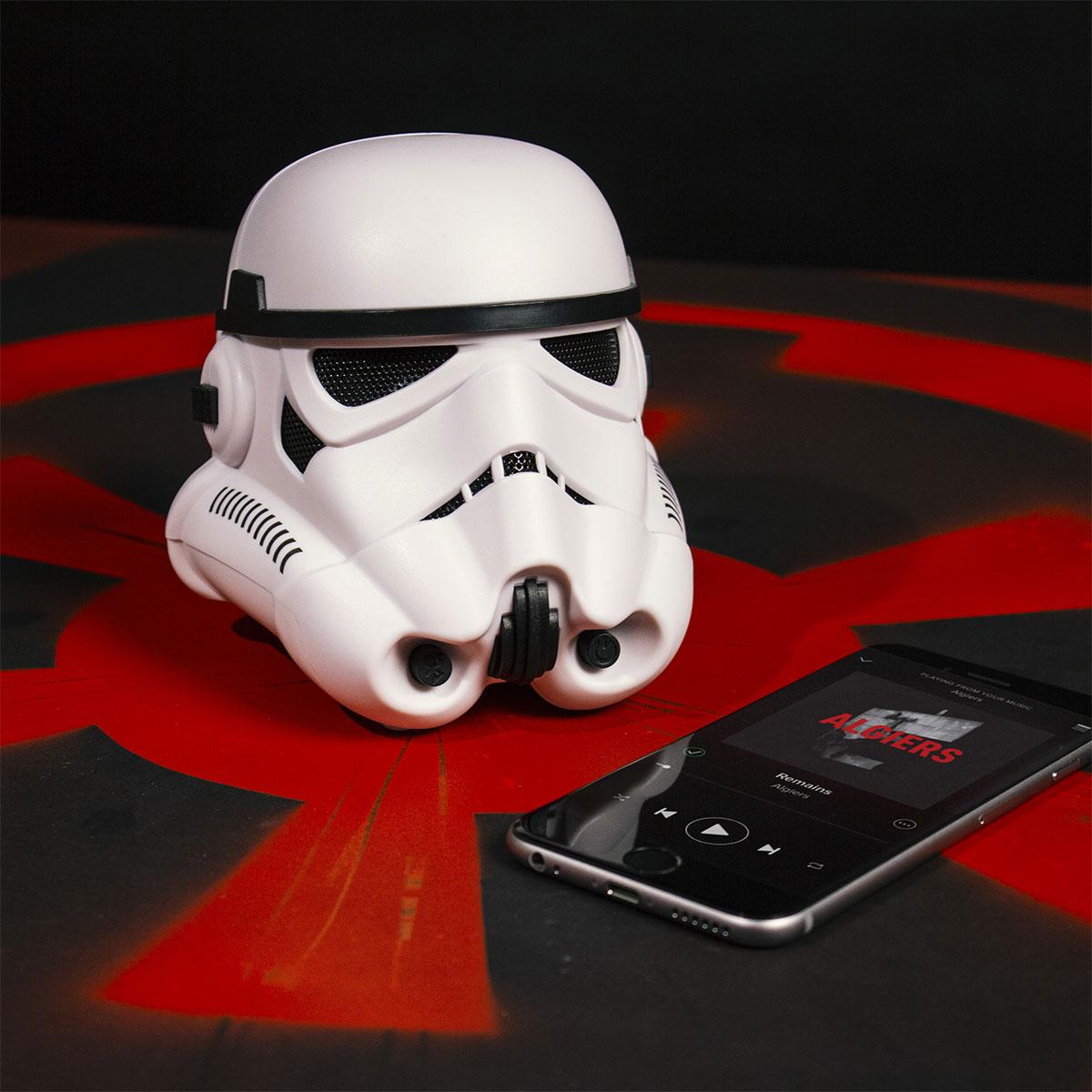 Enceinte bluetooth Stormtrooper Star Wars