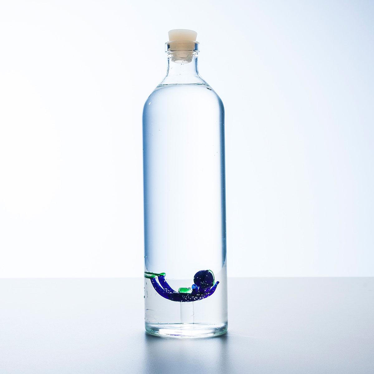 Bouteille d'eau avec plongeur
